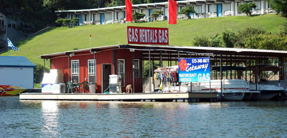Gas Dock Lake of the Ozarks